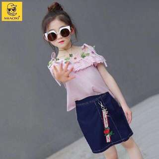 💞NEW ARRIVAL....ON HAND ITEMS💞  🎀Kids Wear top and skirt Terno🎀