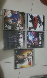 ps3 games.sellin cheap