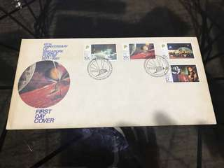 Singapore first day cover