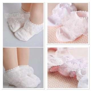 Baby girl princess socks