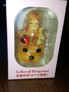 MBS Limited edition Fu Lu Shou collectible figuring - Earth Shou