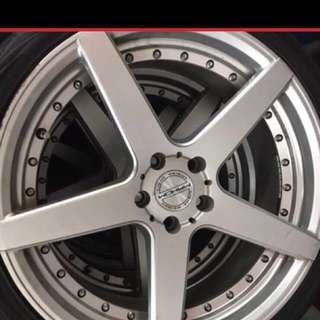 20 inch rim with tire