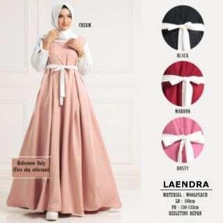 Baju muslim wanita gamis maxi - Maxy lengan panjang - Laendra Dress