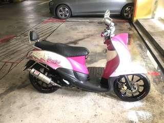 Fino 115 with Yoshimura Exhaust
