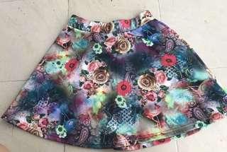 Flare skirt NET