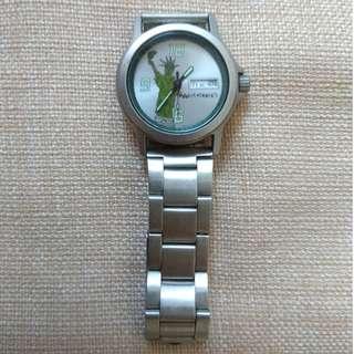少見! Casio 懷舊手錶 特別表面 ( 鋼帶 防水 Watch Watches )
