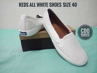 Keds All White Shoes