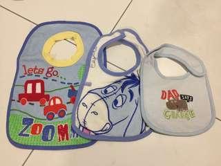 [3 items] Baby bib