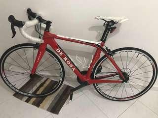 Full carbon ,De Rosa Merak Ultegra Racing Cycle price is negotiable