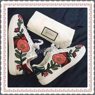 Gucci Floral Shoes