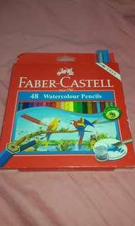 Faber-Castell 48 piece Watercolour Pencils
