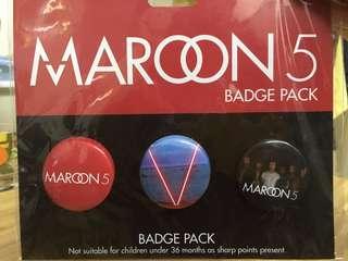 Maroon 5 襟章