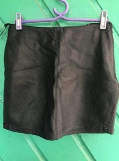 G2000 Leather Skirt