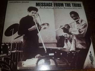 Music CD: Various ‎– Message From The Tribe (An Anthology Of Tribe Records: 1972-1976) - Soul Jazz, Jazz Funk