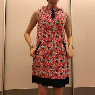 越南🇻🇳購入liberty印花風格小花洋裝