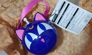 Sailormoon Luna P bottle from USJ Limited edition