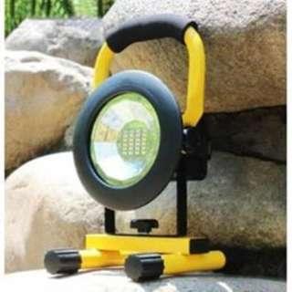 LED floodlight rechargeable 24led Flood light 30W W802