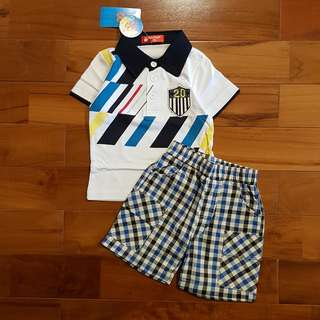 Boy set polo set pant