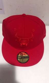 Authentic NEW ERA 59Fifty Chicago Bulls fitted cap