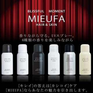 日本🇯🇵 皇牌🏆Napla 品牌 MIEUFA系列 🌷六🈴一香水抗UV防曬噴霧👏🏻80g