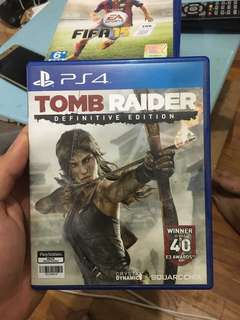 Game PS4 tomb Raider