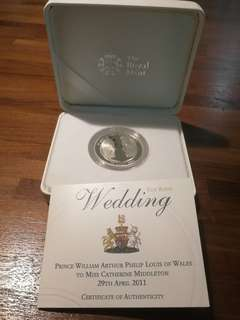 The Royal Mint - William and Catherine