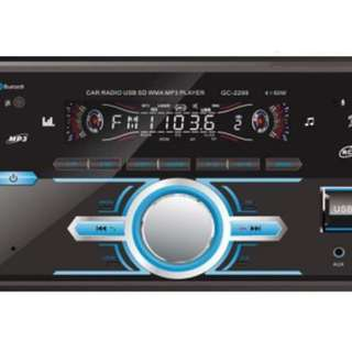 Double Din Autoradio Bluetooth Car Audio Stereo 4003BT