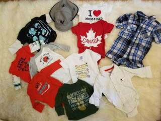 Carters and Joe Fresh collection. Size 3-6 mths. Retails for $135. Practically new condition. Pickup beaches or yorkville. Ad will be removed once sold. Message with preferred location date and time.