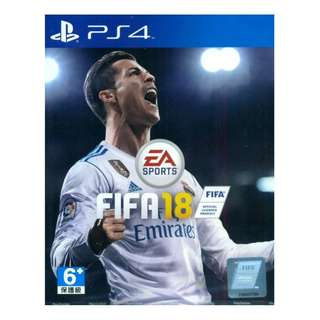 PS4 Fifa 18 (R3) (FREE Download Fifa World Cup) (29/05/18)