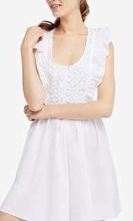 Free people half moon cotton dress