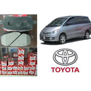 Original Toyota Brake Pad for ACR30 Estima - Clearance Sale (Pair)