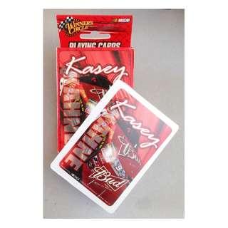 2008 NASCAR Winner's Circle Plastic coated playing Cards K KAHNE