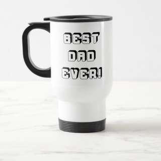 Personalised Name Custom Made Travel Portable Mug Father's Day
