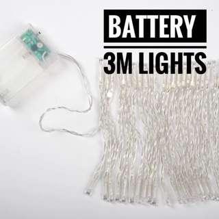 🔥🔥BATTERY OP- 3 Metre Fairy Light
