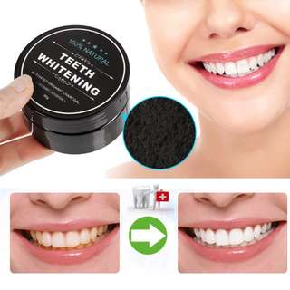 🚛🚛 FREE MAILING 🚛🚛 Daily Use Teeth Whitening Scaling Powder Oral Hygiene Cleaning Packing Premium Activated Bamboo Charcoal Powder