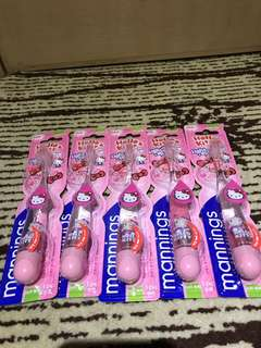 🇭🇰香港代購 👍Hello kitty  light -up junior toothbrush 牙刷