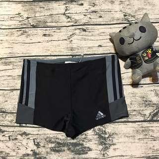 全新正品愛迪達男童泳褲140&176cm