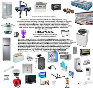 repair service and sales secondhand electric appliances