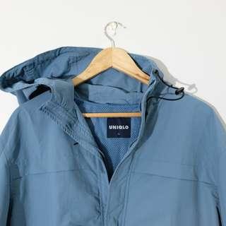 Uniqlo: Ash Blue Jacket (L)