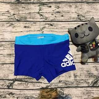全新正品愛迪達男童泳褲152cm