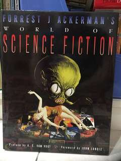 Hard-Cover World of Science Fiction Book