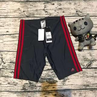 全新正品愛迪達男童泳褲164cm
