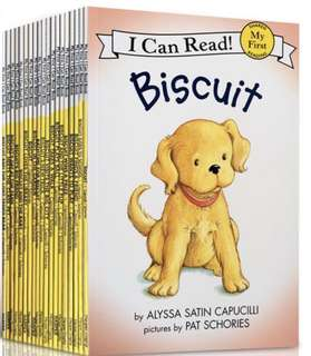 "Super Sale!! I Can Read ""Biscuit"" (18 books)"
