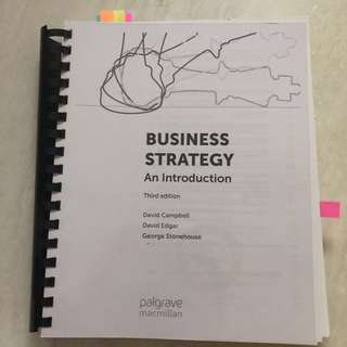 Business Strategy Textbook