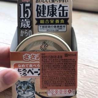 🚚 🐱貓 日本AIXIA 健康罐 15歲老貓 #貓罐頭