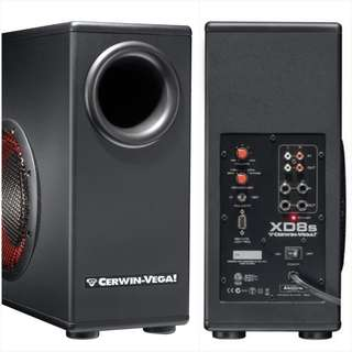 Cerwin Vega! XD8s Subwoofer with built-in Amplifier