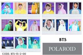BTS POLAROID (ready stock)