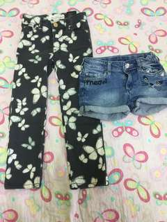 PANTS/JEANS SHORT SEPARATE PRICE
