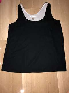 Mango Women Black Top