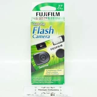 Fujifilm QuickSnap Flash Disposable Camera 27 shots (expired)